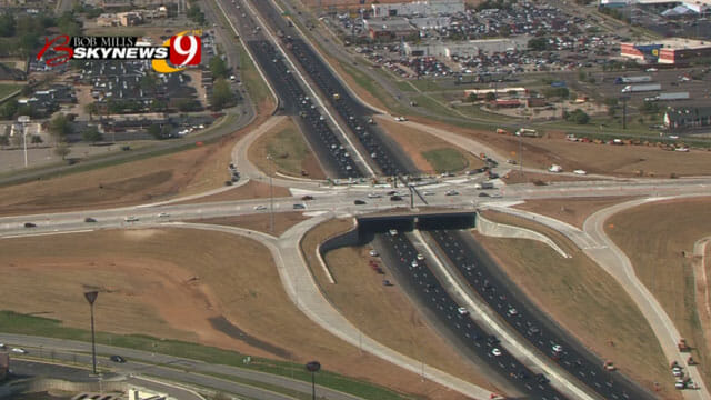 Norman Bridge At I 35 And Main Street Re Opens Creative Form Liners