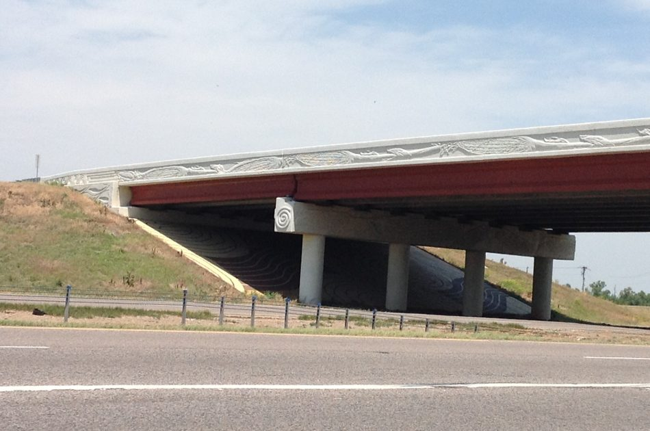 I-35/SH-9 West Bridge