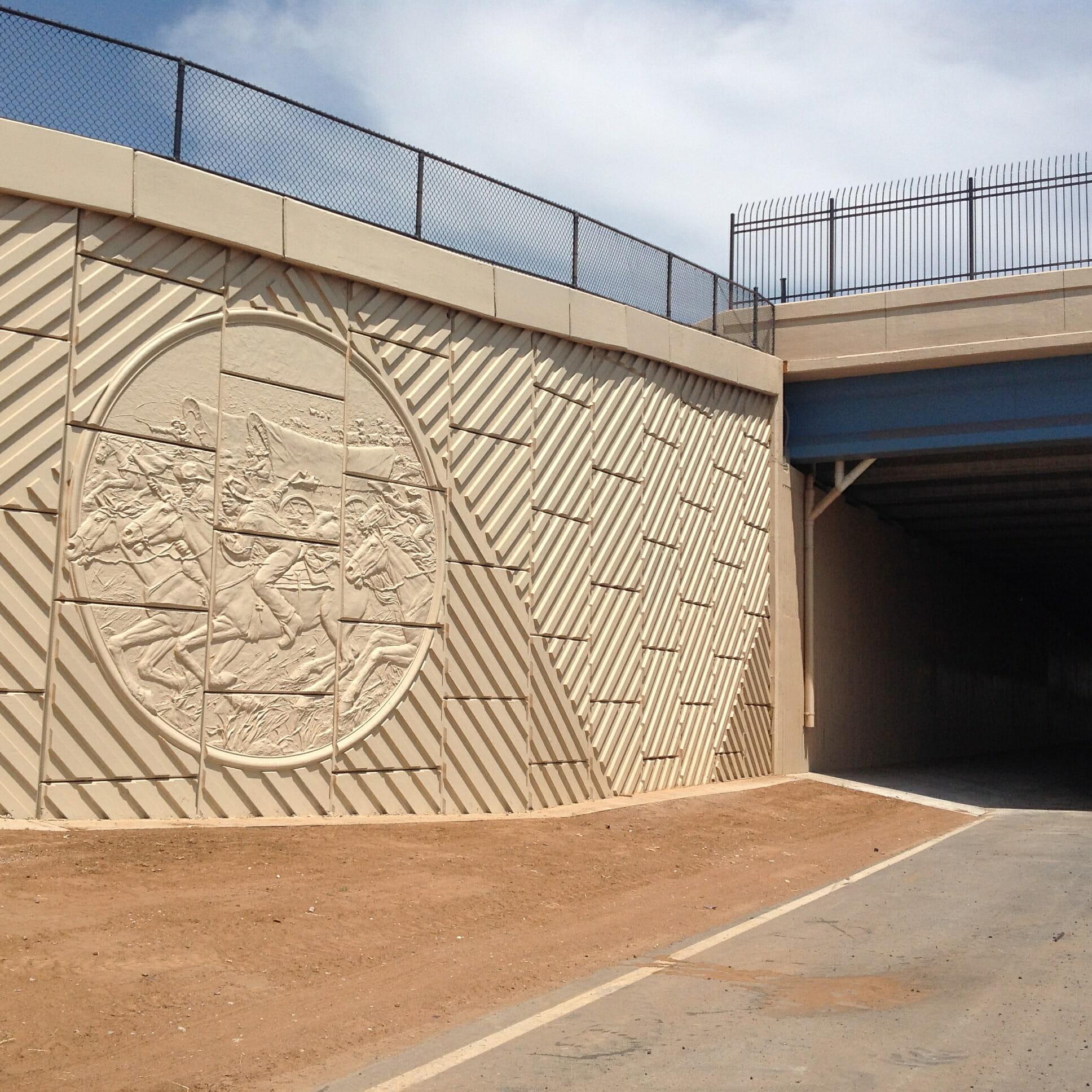 Main Street Highway Walls City Of Norman Creative Form