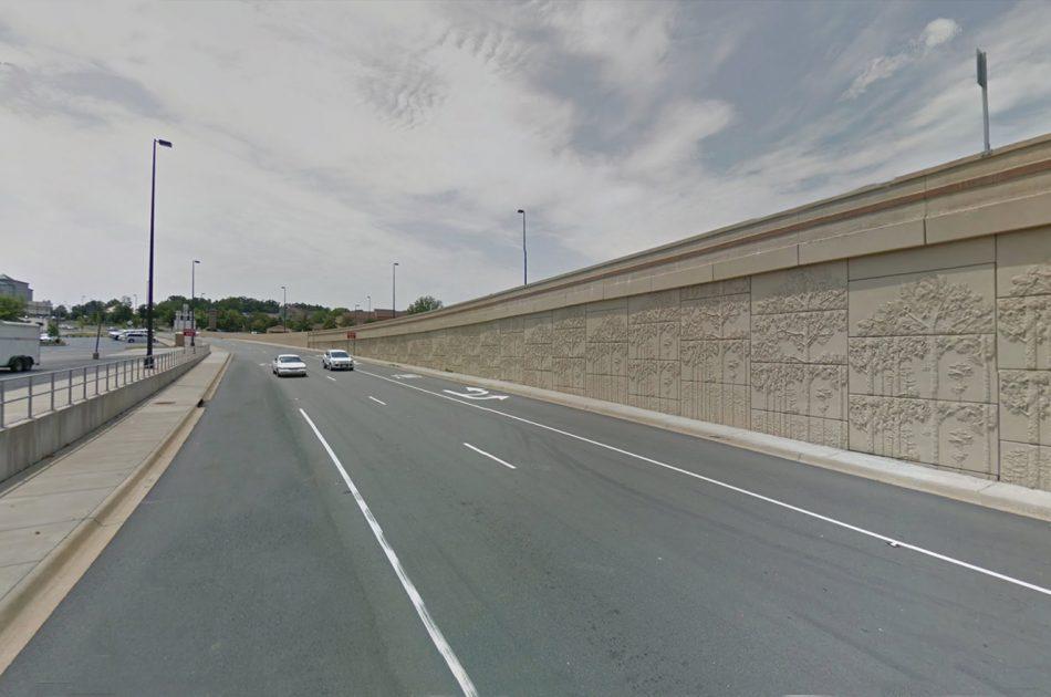 I-630/I-430 Interchange/ The Big Rock Interchange MSE Walls