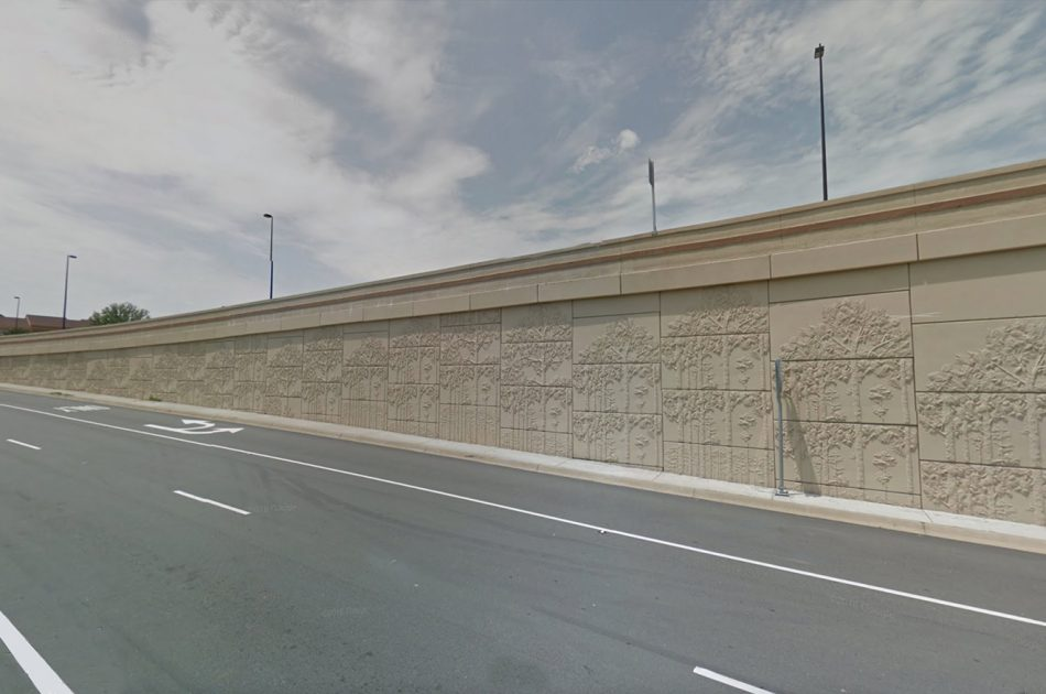 I-630/I-430 Interchange/ The Big Rock Interchange MSE Walls