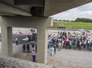 Ribbon Cut on Little Rock's Big Rock Interchange