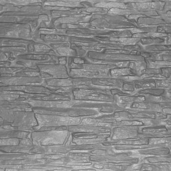Shallow Dry Stacked Stone