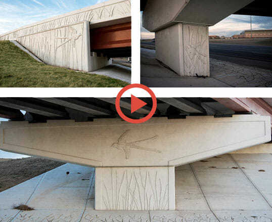 Concrete Form Liners, Show State Pride In Your Bridges & Highways using our unique Formliners, Top Elastomeric Concrete Form Liners (Capable of 50-100 Pulls)