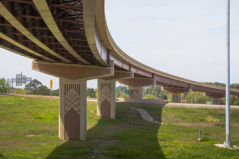 , I-630/I-430 Big Rock Interchange, Top Elastomeric Concrete Form Liners (Capable of 50-100 Pulls), Top Elastomeric Concrete Form Liners (Capable of 50-100 Pulls)